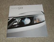 Saab 93 Price Guide Brochure 2008 Airflow Vector Sport Aero 1.8T 2.0T 1.9 TID