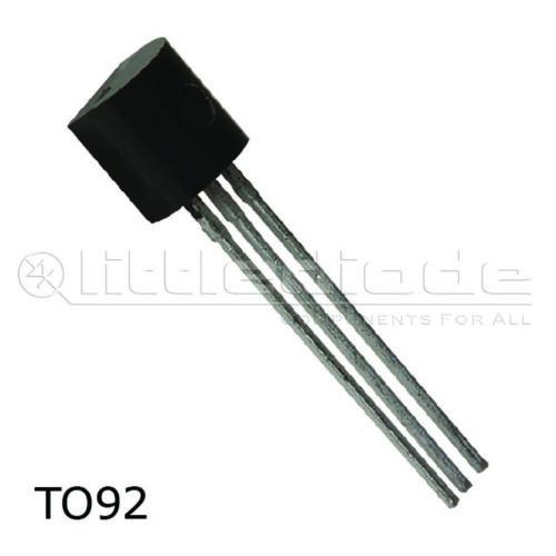TO92 hacer Fairchild Semiconductor Estuche De Silicio Npn-Transistor BC547A
