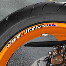 8 x Honda Repsol Wheel Rim Stickers - fireblade cbr vtr vfr B