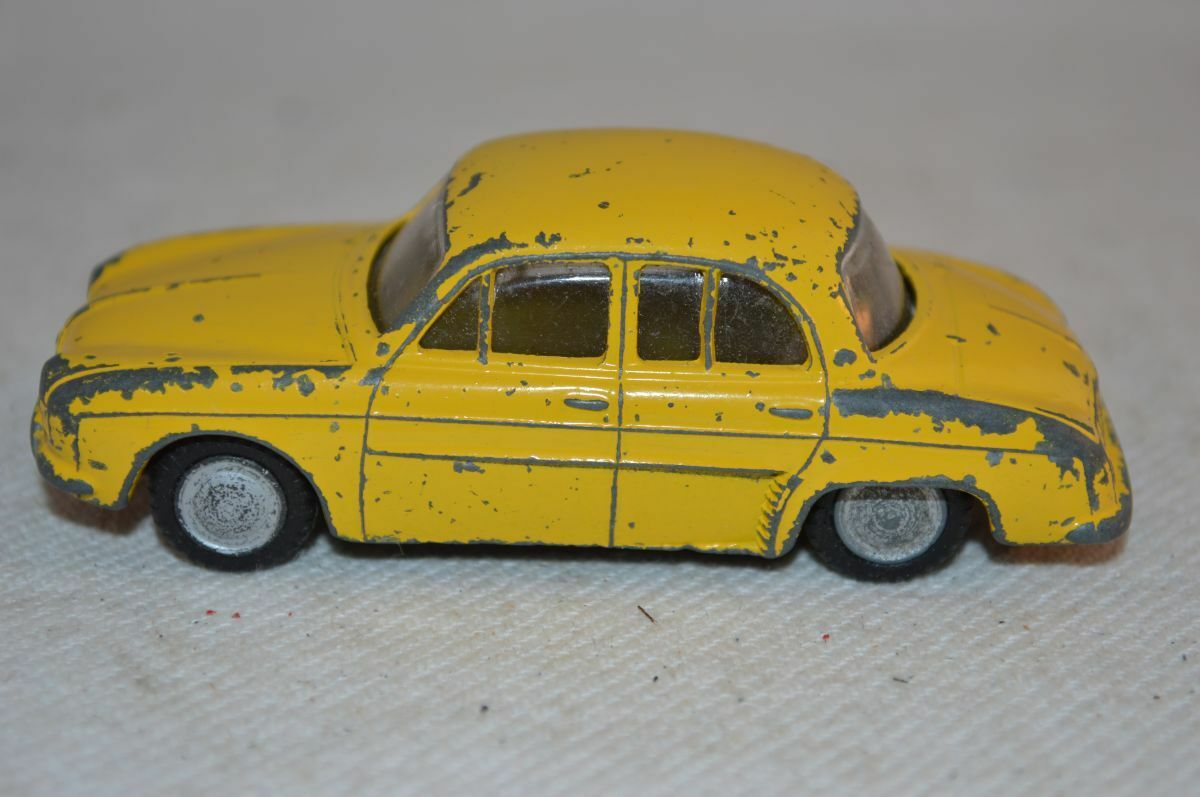 Lion Car Renault Renault Renault Dauphine Yellow in good original condition made in Holland 19ddb2