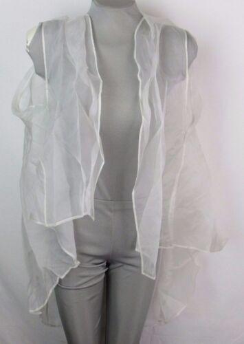 Tadashi Shoji Ivory Silk Shiki Organza Overlay Size M//L MSRP $148