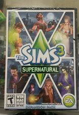 Sims 3: Supernatural (Windows/Mac, 2012) Brand New -- S2G --