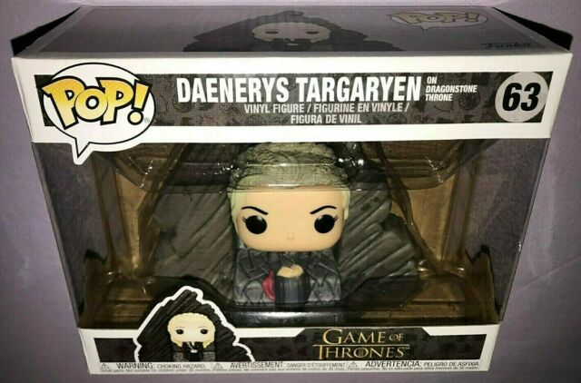 Funko POP DAENERYS TARGARYEN on DRAGONSTONE THRONE #63 GAME OF THRONES **NEW**