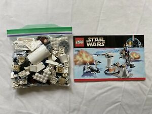 LEGO Star Wars #7749 Echo Base 100% Complete w/Instructions & Minifigures