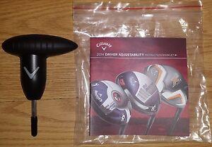 Callaway Golf Big Bertha Alpha Wrench Tool Manual Oem Driver Fairway