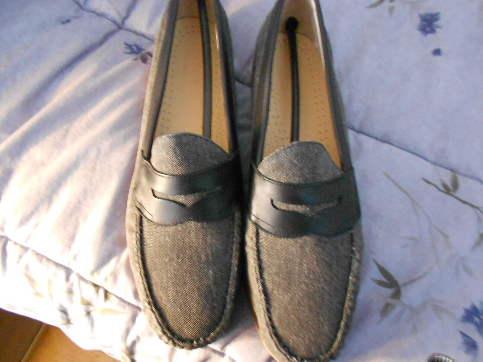 G.H. Bass & Company Men's Black Loafers Weejus FS   Size:11.5D  New in box