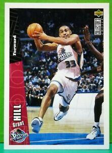 Grant-Hill-regular-card-1996-97-Upper-Deck-Collector-039-s-Choice-240