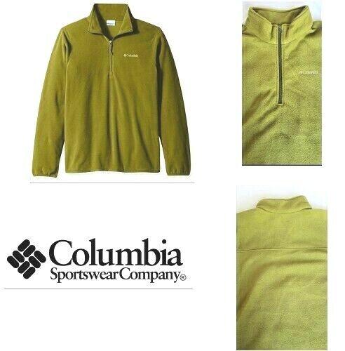 Columbia men/'s cliff ridge  half zip Fleece pullover
