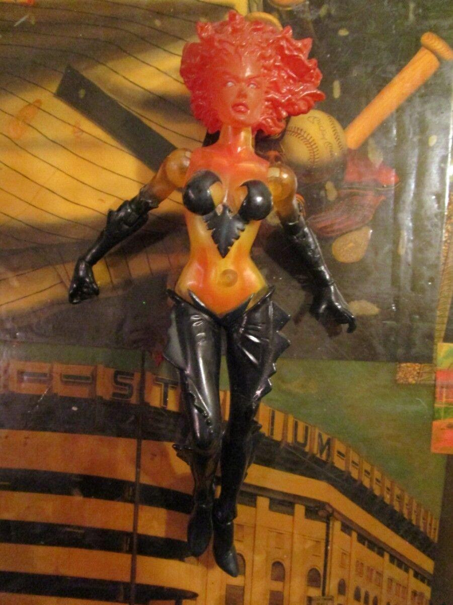 MARVEL SELECT X-MEN Dark PHOENIX Jean Grau Figure Collector Ed RARE FIRE Variant