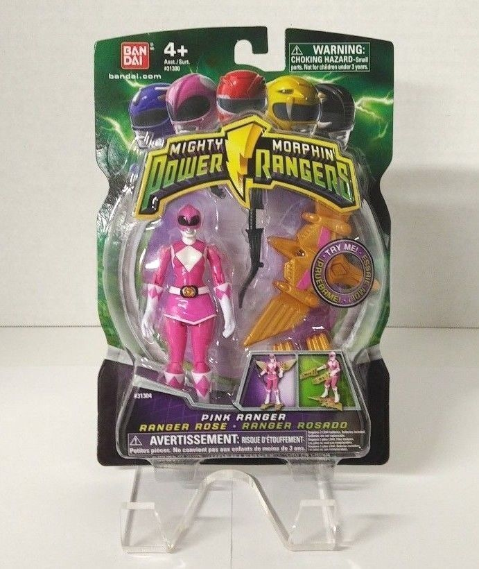 Mighty Morphin Power Rangers 2010 - Pink Ranger (MIB)