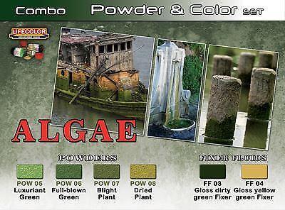LifeColor Combo Pigment /& Colour Set Algae