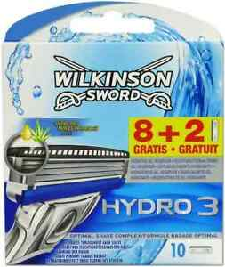 Wilkinson Sword Hydro 3 Razor Blades Pack of 10  4027800883103