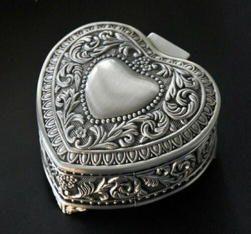 TIN ALLOY HEART MUSIC BOX THE LITTLE MERMAID