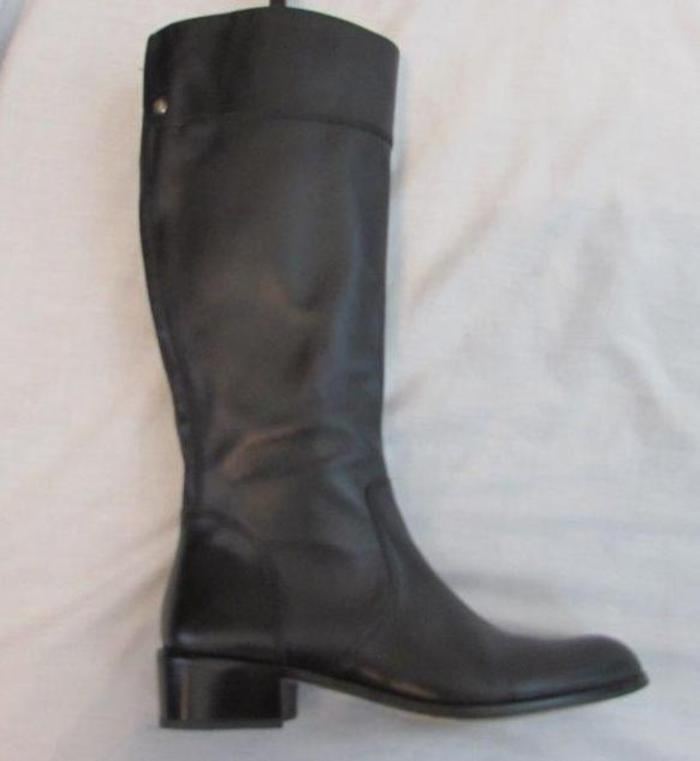 CORSO COMO womens 8 back leather knee high tall zip boots MINT