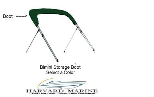 "Bimini Top Storage Boot 97/""-102/""  Wide Sharkskin Plus Fabric ~ Color Selection~"