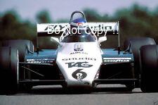 Keke Rosberg Williams FW08 Winner Swiss Grand Prix 1982 Photograph 1