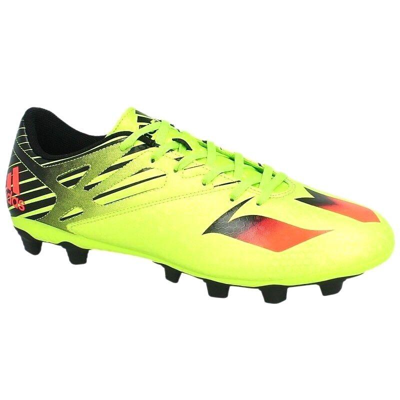 schuhe calcio Adidas Messi 15.4 FxG S74698 herren Sport Football Gelbschwarz Nuovo