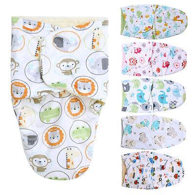 0-3M Newborn Baby Swaddle Stroller Wrap Blankets Infant Sleeping Bag New