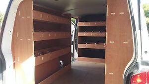 Vw Transporter T5 Lwb Complete Van Racking Plywood