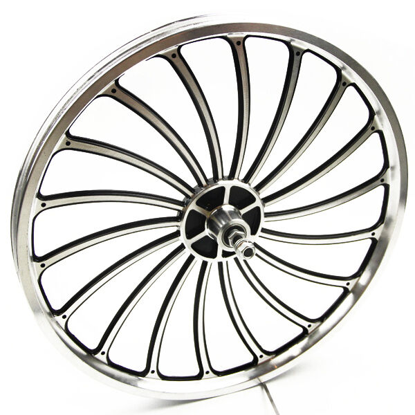 Aluminum Bicycle Front or Rear Wheel 20 X 1.75 2.125 2.5'' eBike Chopper Sturdy
