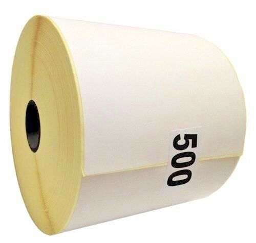 "2000 Plain Thermal Label Roll 100mm x 150mm for Zebra Toshiba Citizen 4/"" x 6/"""