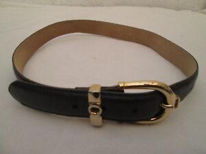 AUTHENTIQUE ceinture 1.2.3 cuir autruche TBEG vintage   eBay deb928703a0