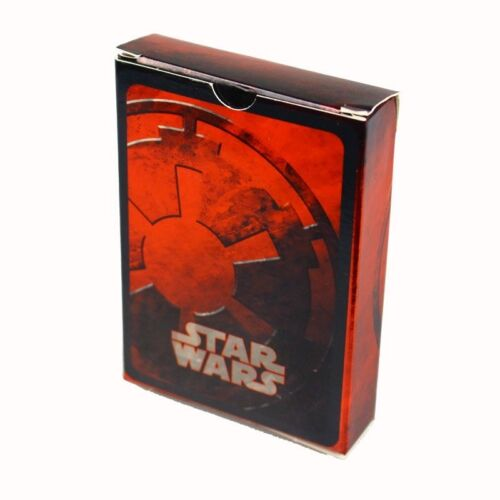 STAR WARS Collectable Playing Cards Red Deck CARTAMUNDI Brand New