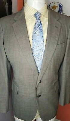 Chester Barrie For Austin Reed Made In England 100 Wool Double Vents Blazer 40s Ebay