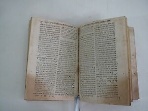1594 Shulchan Aruch Venice judaica Very old book hebrew Jewish RARE שלחן ערוך