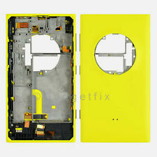 OEM Nokia Lumia 1020 Back Cover Housing + Power Volume Charger Port Flex Yellow