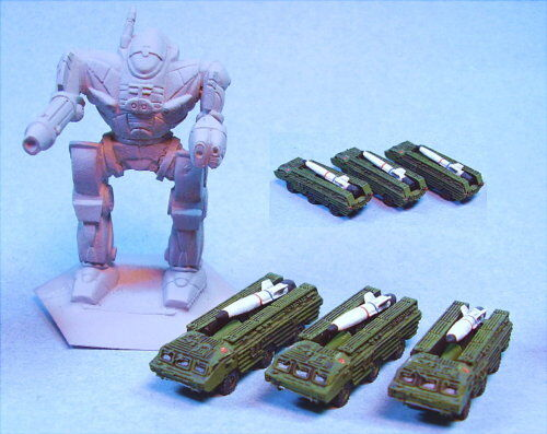 GHQ miniatures SS21 Scarab (3) suitable for Battletech