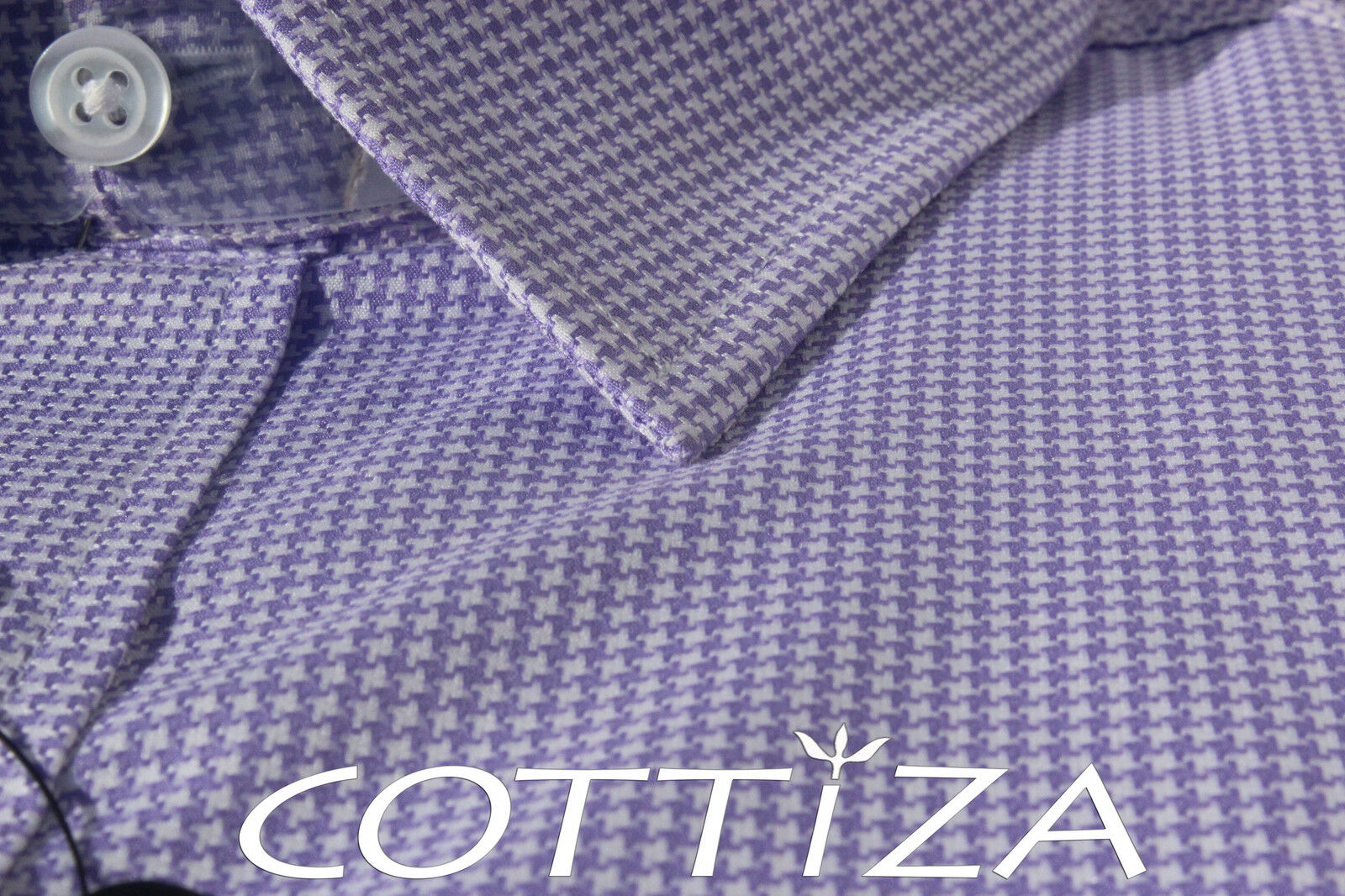 COTTIZA - 2 Ply 100% Egyptian Cotton Business Formal Dress Shirt