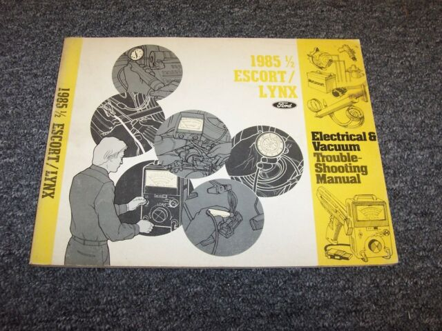 I Need The Electrical Wiring Diagram For A 1985 Ford Manuals User Guides Full Version Hd Quality