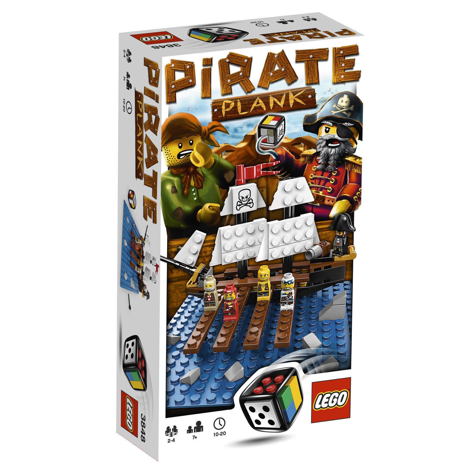 Lego 3848 - Spiele-Pirate Plank.- Neu