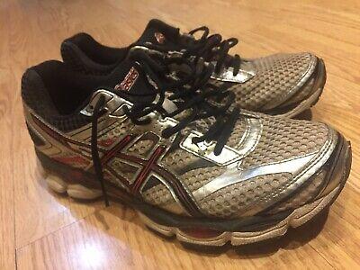 Asics Gel Cumulus 16 SilverWhiteRed Running Shoes Men's US 9 | eBay