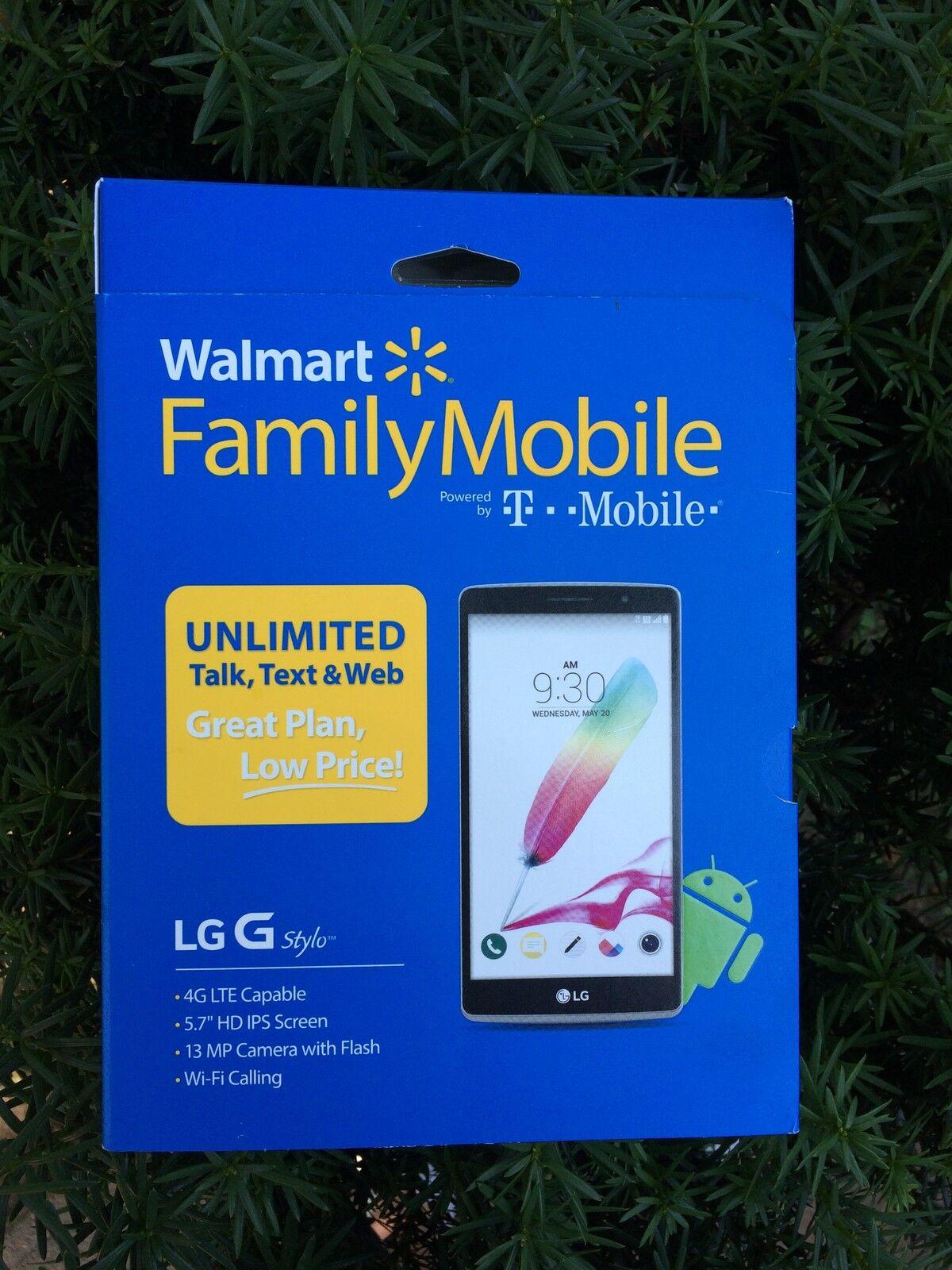 Walmart Family Mobile LG G Stylo Prepaid Smartphone
