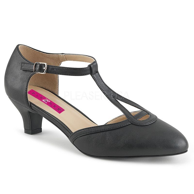 Pumps Pleaser Pink Pink Pink Label FAB-428 schwarz matt Pleaser Pumps FAB-428 Schwarz f8c1ed