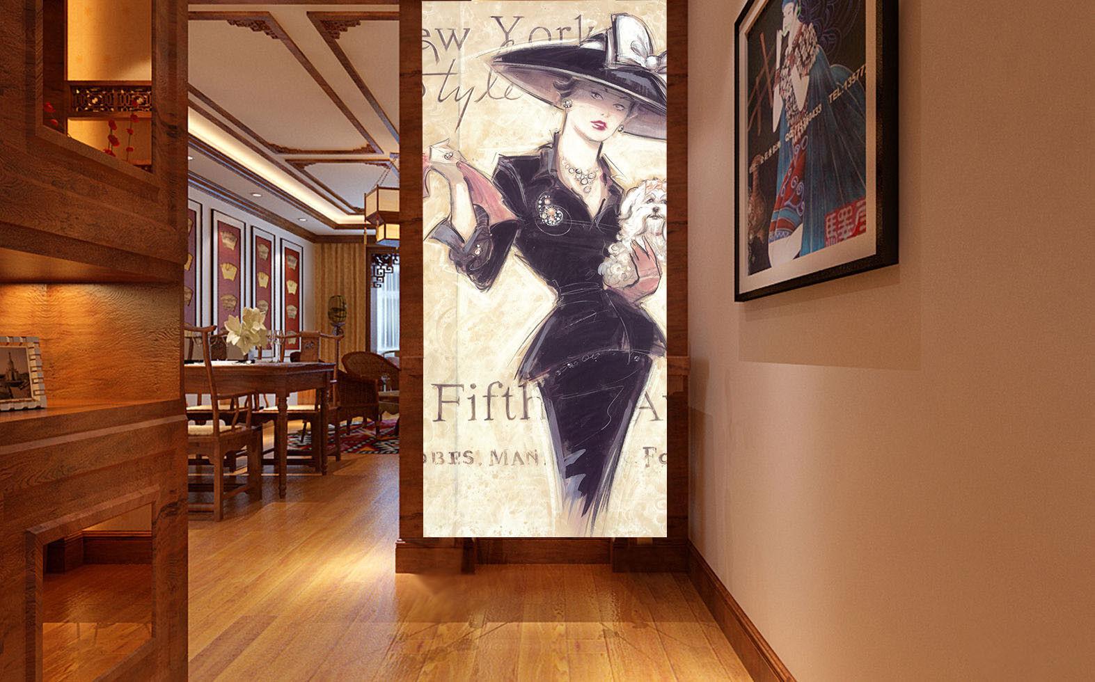 3D Woman Paint 4011 WandPapier Murals Wand Drucken Wand Mural AJ WandPapier UK Carly