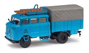 Busch-95171-Espewe-Ifa-W50-Btp-Blue-Post-Model-1-87-H0