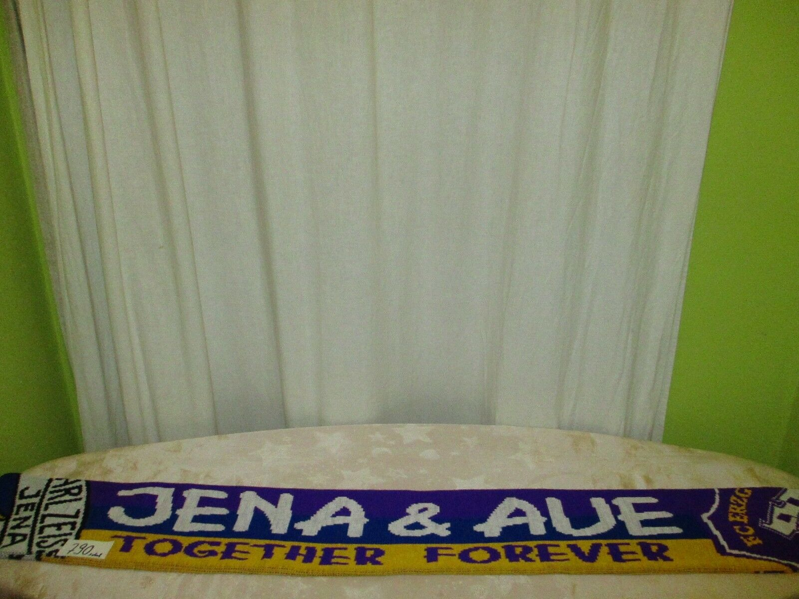 FC Carl Zeiss Jena/Erzgebirge Aue Fan Schal