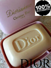 100% AUTHENTIC BEYOND RARE DIOR Diorissimo VINTAGE PERFUM SOAP SAVON&Luxury DISH