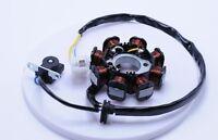 50cc Stator / Magneto - 3 Wire 8 Coil Gy6 Engine - Dc Stator 2451e