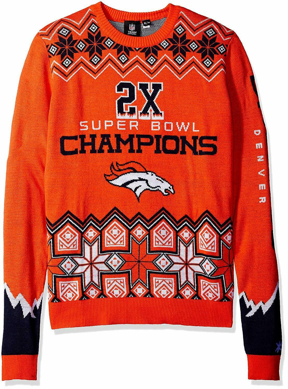 09dde11f68 Forever Collectibles NFL Men's Denver Broncos Super Bowl Commemorative  Sweater. Speedo Men's Tech 21 inch Bonded Swim Trunks Board Shorts ...