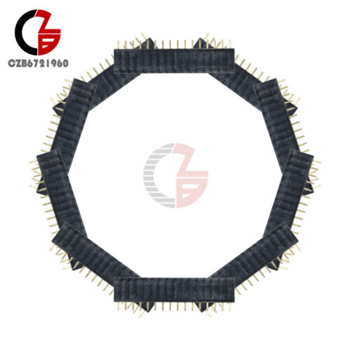 100PCS 1x16 16Pin-Tête 2.54 mm pitch Single Row Female straightstrip