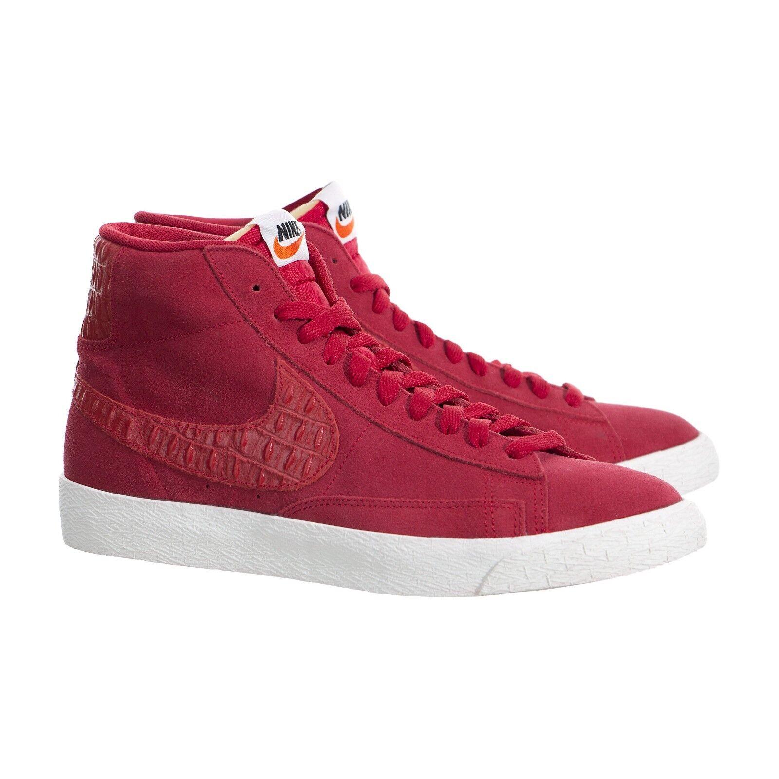 on sale a9a06 d9ee4 Nike Blazer Blazer Blazer Mid Premium Vintage Gym Red Sail Gum 638261-601  size 10.5