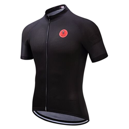 WEIMOSTAR Cycling Jersey Sports Mens Pro Team Shirts Short Sleeve Clothing Tops