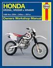 Honda XR250L, XR250R & XR400R von Editors Of Haynes Manuals (2014, Taschenbuch)