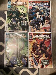 IMMORTAL MEN #4 DC COMICS NM