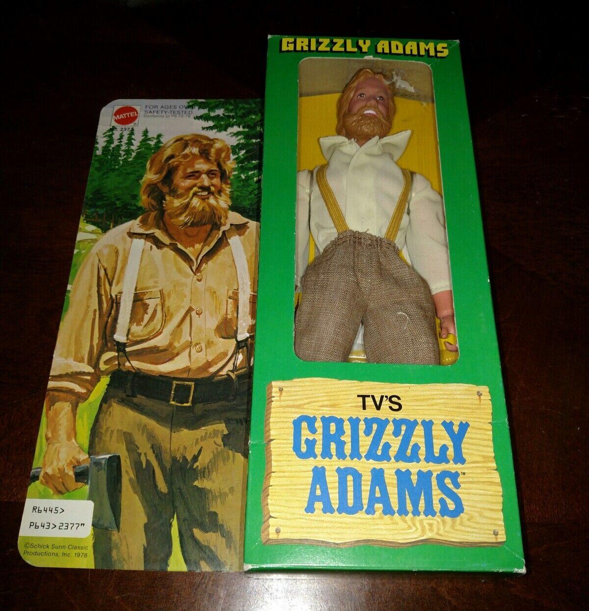 Grizzly Adams MATTEL VINTAGE 2018 totalmente nuevo en la caja