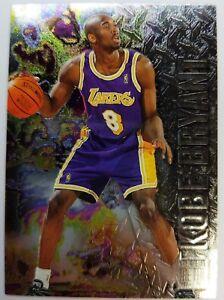 1996-96-97-Fleer-Metal-Kobe-Bryant-ROOKIE-RC-181-Los-Angeles-Lakers-BLACK-MAMBA
